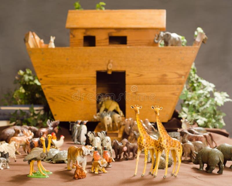 Noahs tillflykt arkivbilder