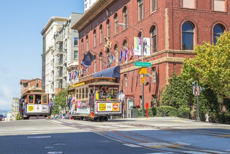 Nob Hill San Francisco royalty free stock photo