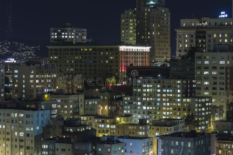 Download Nob Hill San Francisco Editorial Night View Editorial Stock Photo - Image: 29339538