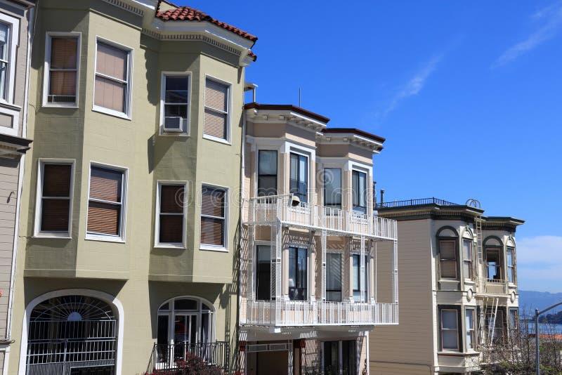 Nob Hill, SF stock foto