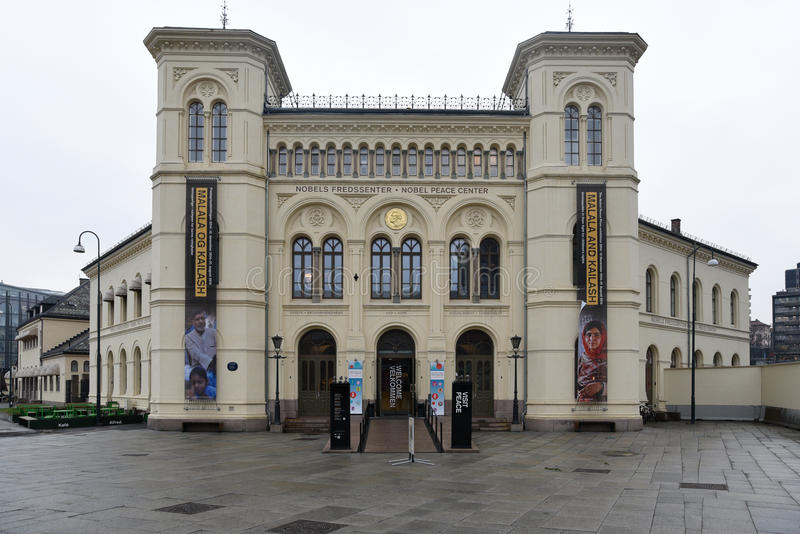 Nobel peace center in Oslo royalty free stock photography
