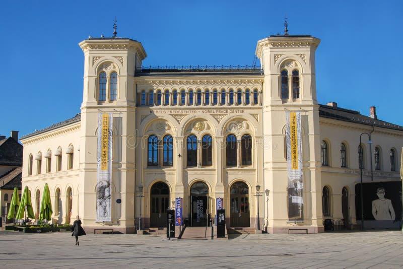 Nobel pokoju centrum w Oslo, Norwegia obraz stock
