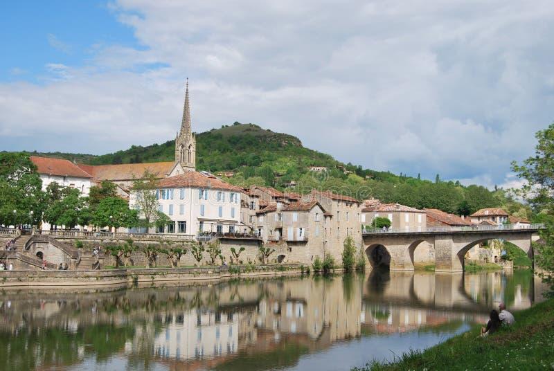 Nobile Val di Antonin del san. Francia fotografia stock libera da diritti