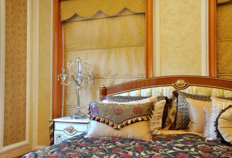 Noble decoration style bedroom