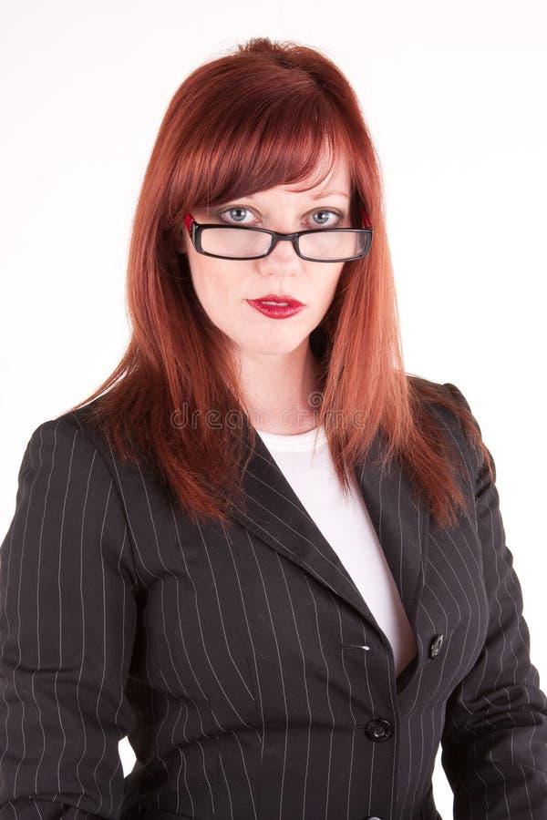 Noble Frau stockfoto