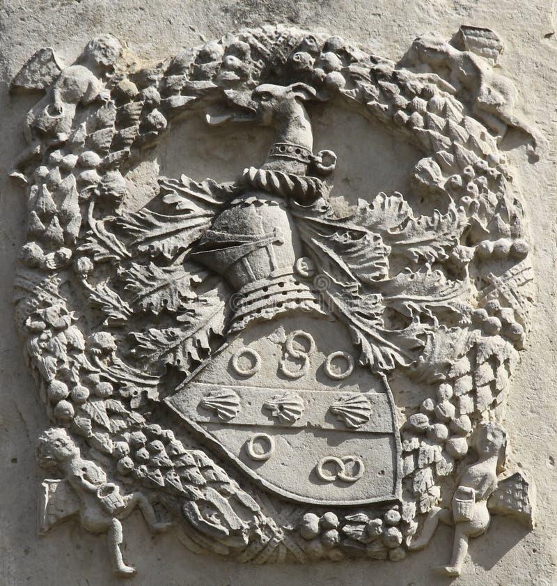 Noble Heraldic Symbol Royalty Free Stock Photos