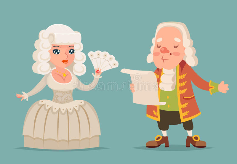 Cartoon Character - Nobleman - Isolated Stock Illustration ...