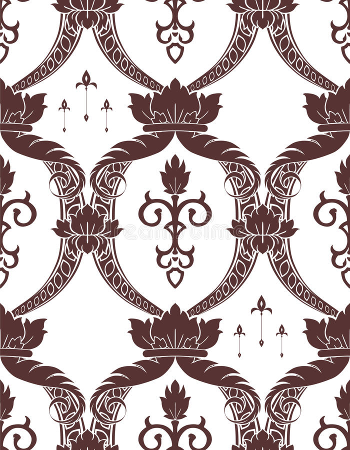 Noble pattern stock illustration