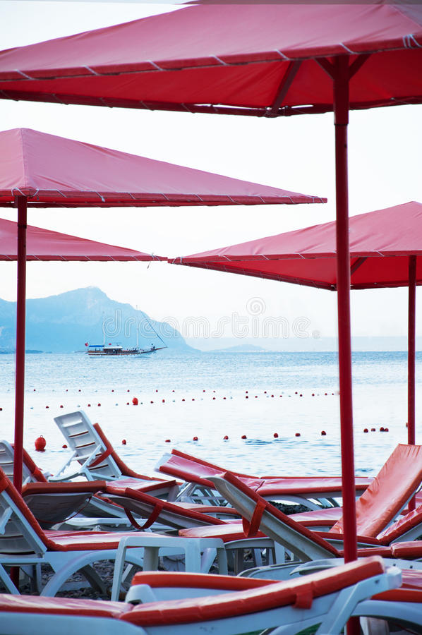Download Nobody on the beach stock photo. Image of turkey, yacht - 17510396