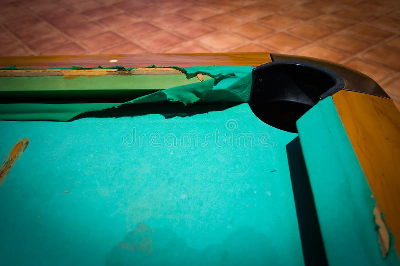 Download Nobody Plays Pool Anymore stock photo. Image of photograph - 14896940