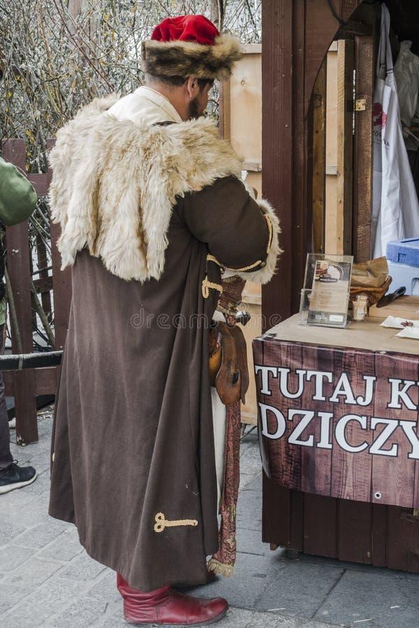 Nobre em Krakow imagens de stock royalty free