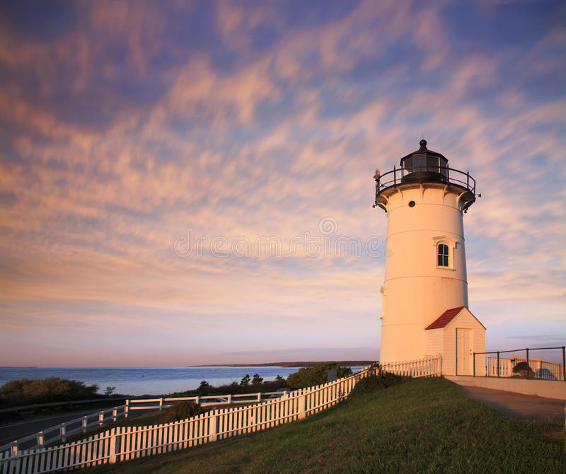 Download Nobska Point Light stock image. Image of massachusetts - 18550497