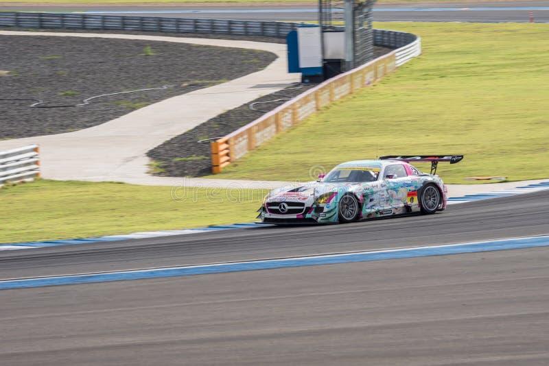 Nobuteru Taniguchi van het RENNEN & TeamUKYO van GOODSMILE in Super FI van GT stock foto's