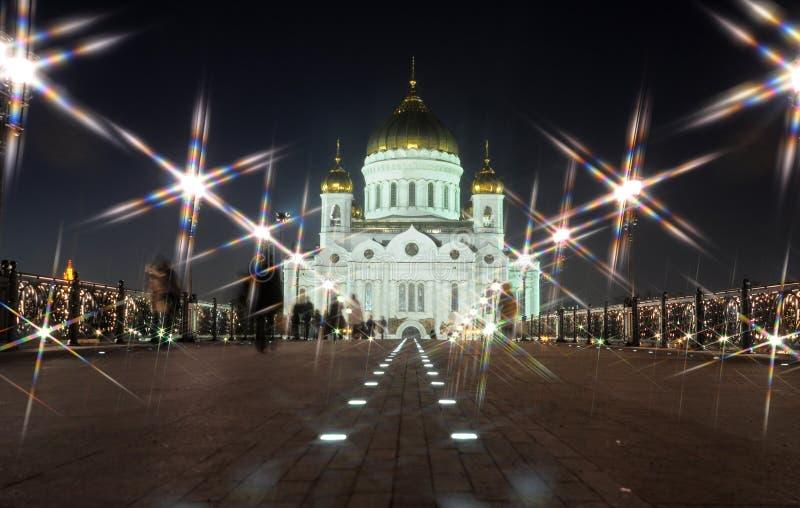 noc świątynia obraz royalty free
