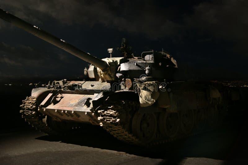 noc amerykański zbiornik fotografia stock