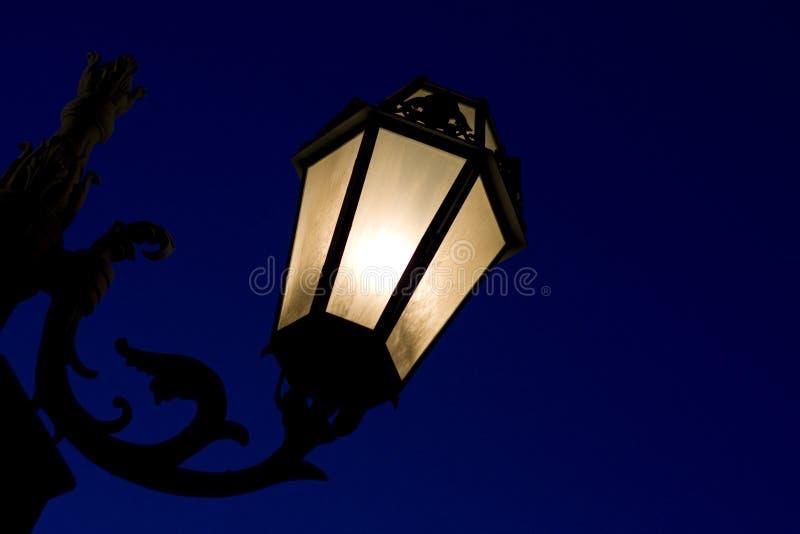 noc dekoracyjna lampowa poczta obrazy royalty free