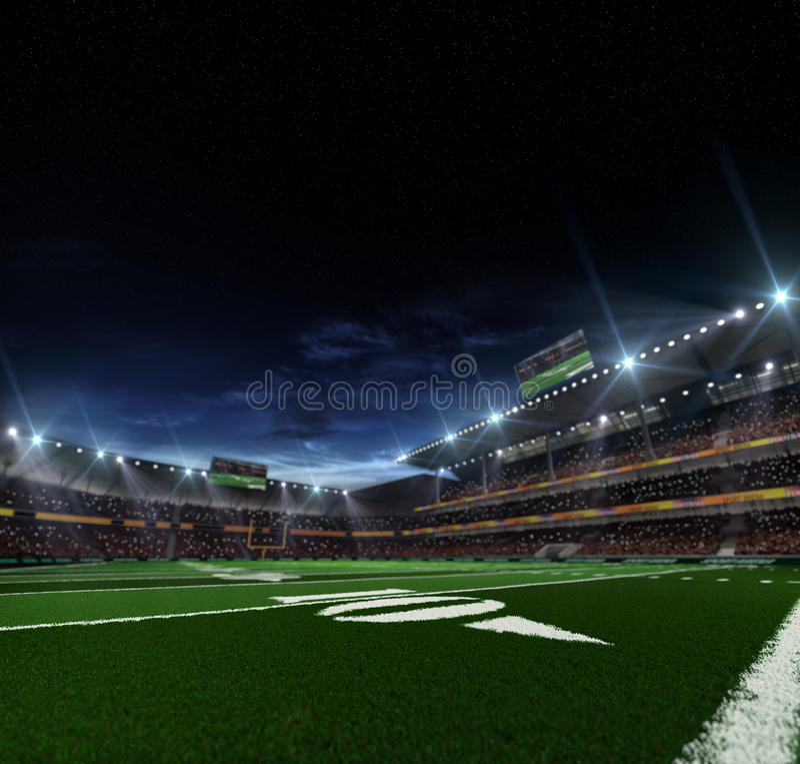 Noc futbolu amerykańskiego arena