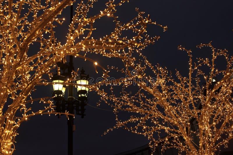 noc jest nowy rok obrazy stock