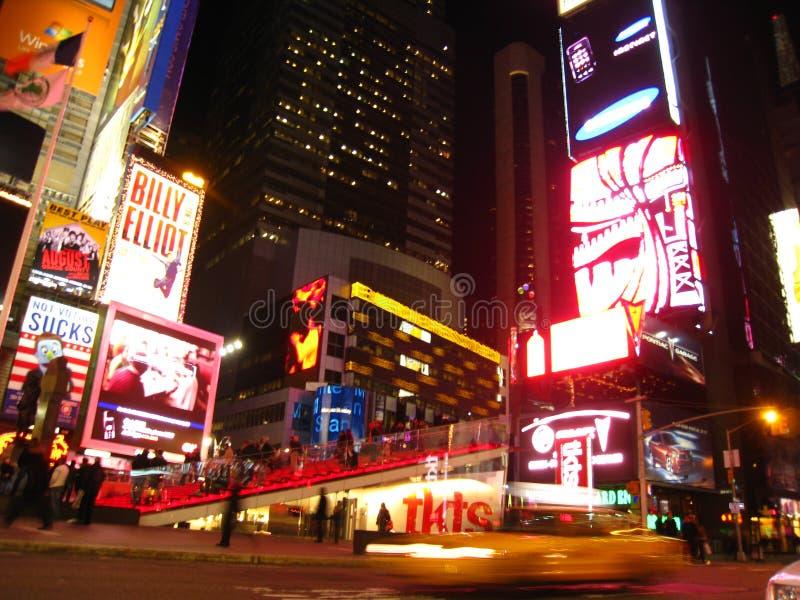 noc kwadratowi czasy zdjęcie stock