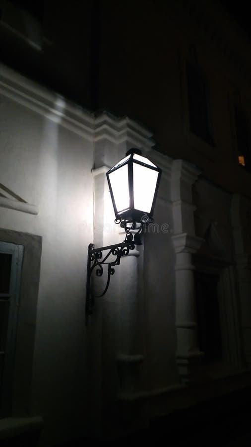 Noc lampion obrazy stock
