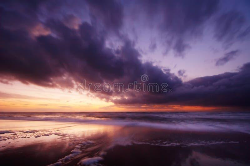 noc oceanu zdjęcia stock