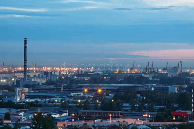 noc Petersburg st zdjęcia stock