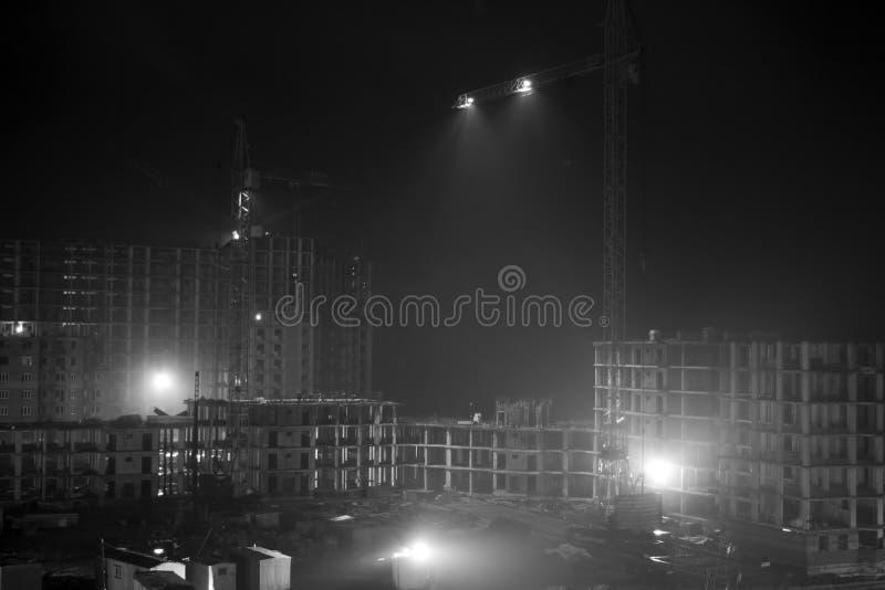 noc - praca zdjęcia stock