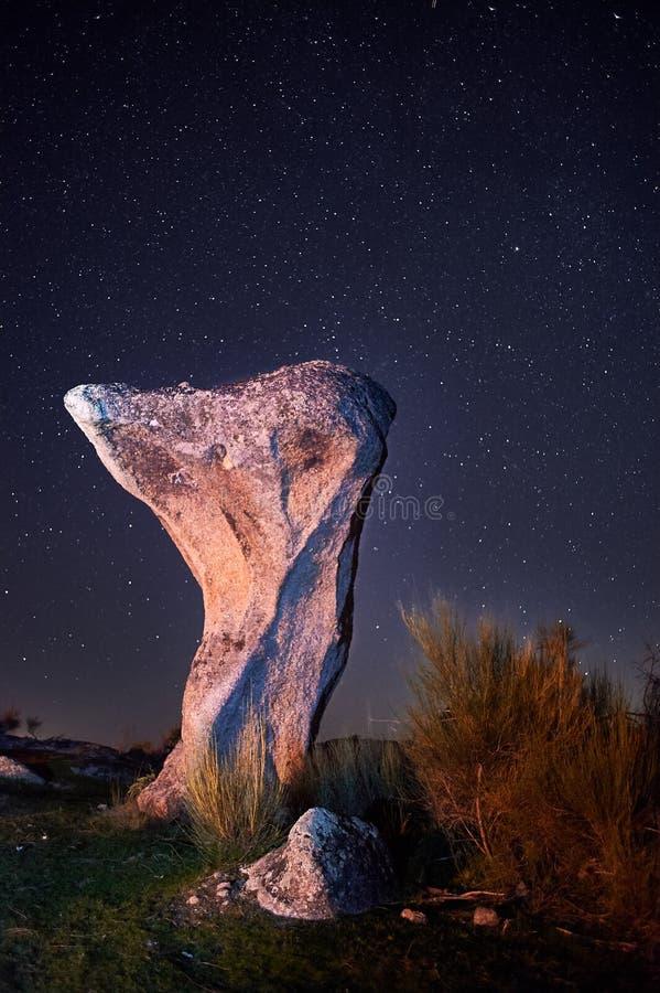 Noc przy Porra Del Burro zdjęcia stock