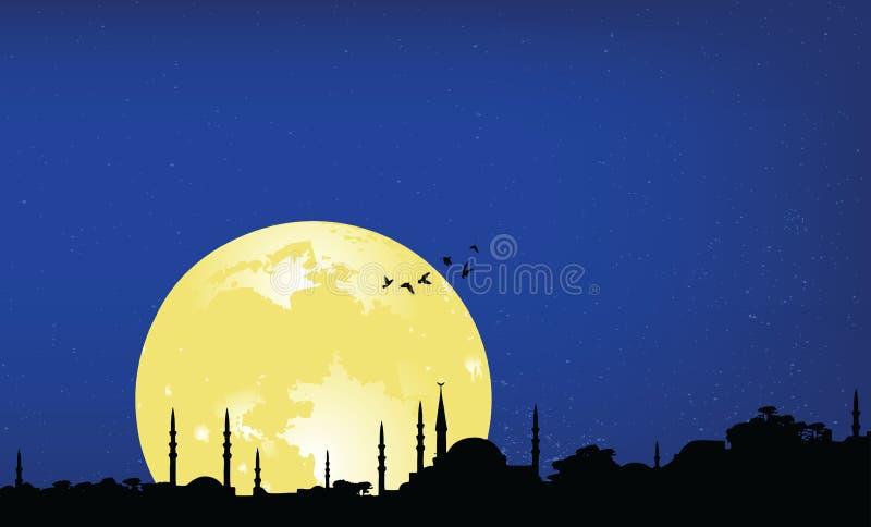 noc Ramadan ilustracji