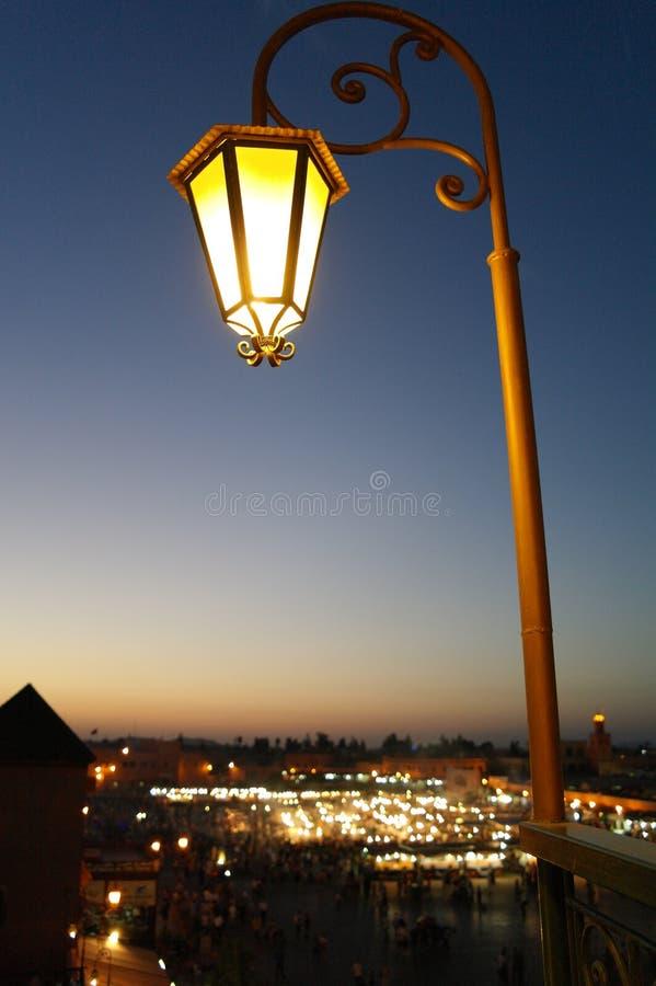 Noc rynek zdjęcie royalty free