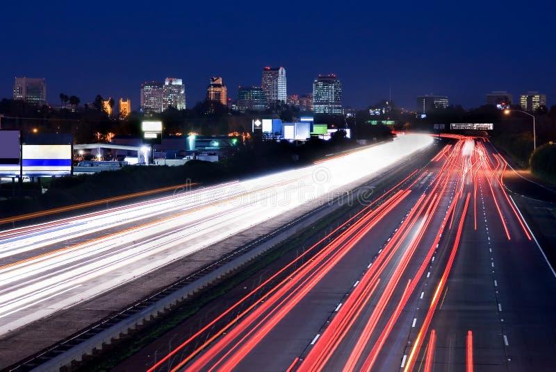 noc Sacramento zdjęcie stock