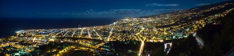 noc Saint-Denis miasto obrazy royalty free
