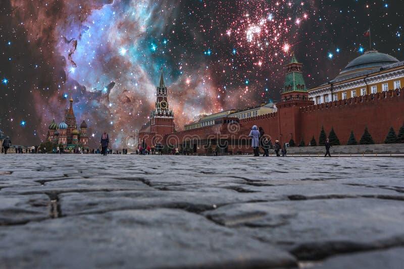 Noc sankcje nad Rosja zdjęcie stock