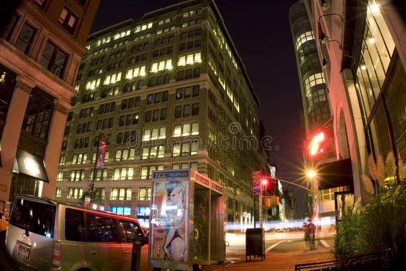 noc street zdjęcia stock