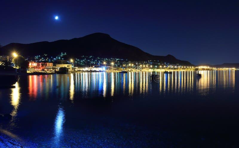 Noc strzału salami, Grecja zdjęcie royalty free