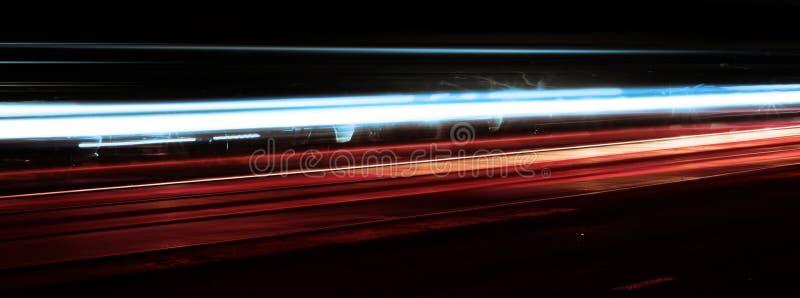 noc strzelaniny prędkość. zdjęcia stock