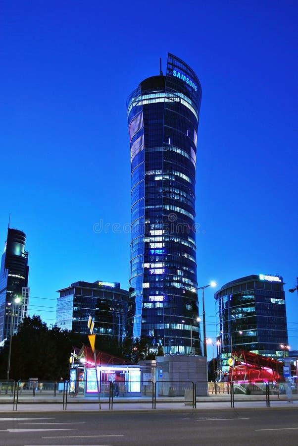 noc TARGET1104_1_ nowożytny biuro zdjęcia royalty free