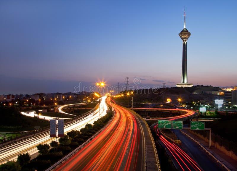 noc Tehran fotografia royalty free
