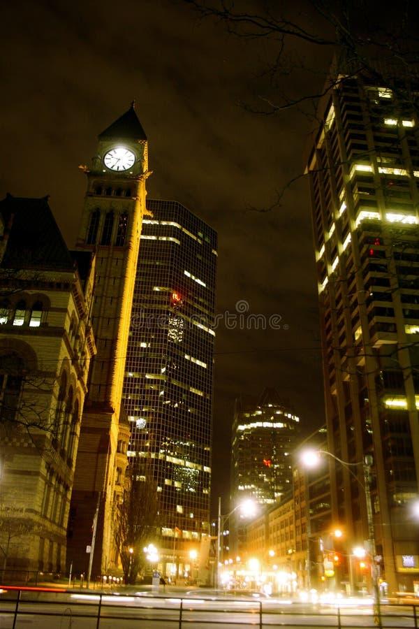 noc Toronto zdjęcie royalty free