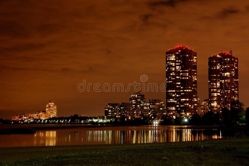 noc Toronto zdjęcia royalty free