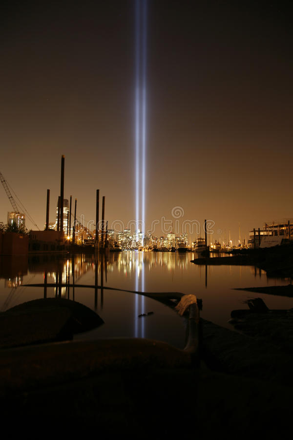 Noc typowy Nowy Jork fotografia royalty free