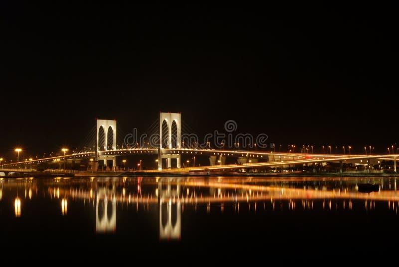 Noc w Macao zdjęcie stock