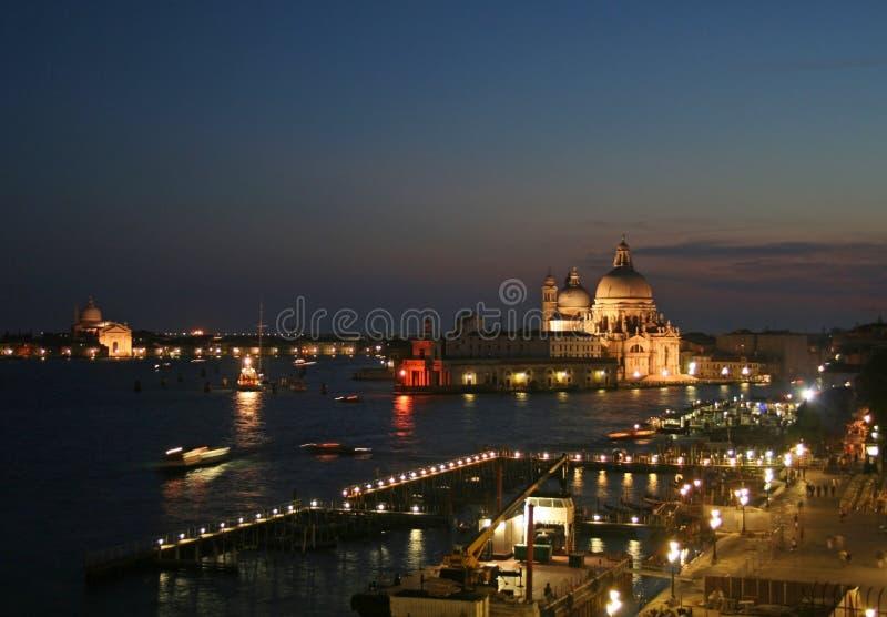 noc Wenecji obrazy stock