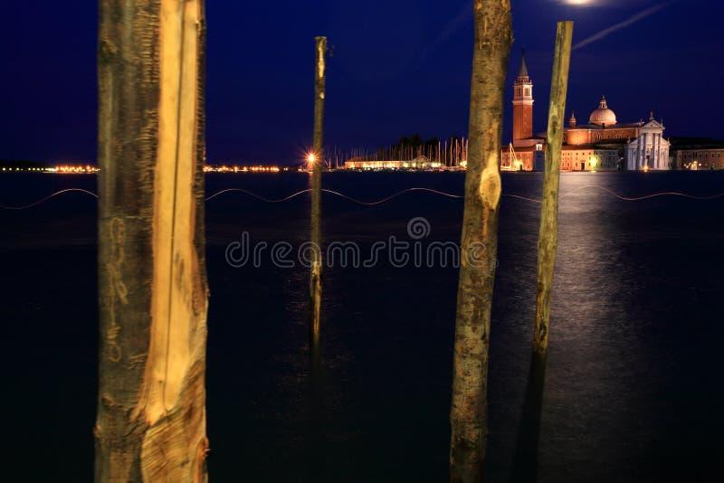 noc Wenecji fotografia royalty free
