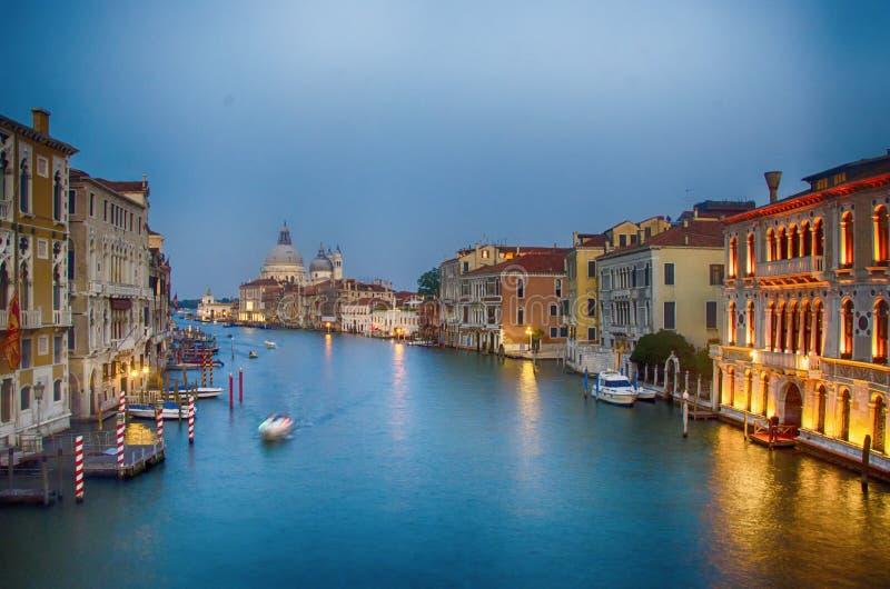 noc Wenecji obrazy royalty free
