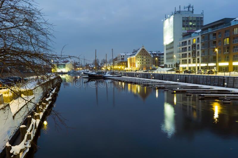 Download Noc widok Gdański. obraz editorial. Obraz złożonej z przestrzeń - 28966260