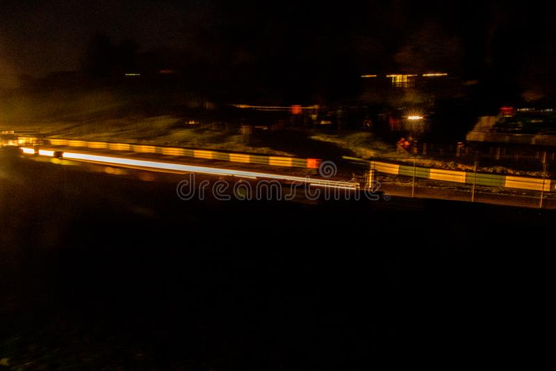 Noc wiec zdjęcie stock