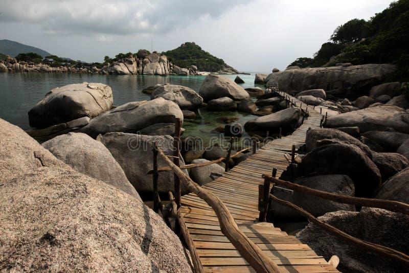 NOCAUTE NANG YUAN DA ILHA DE TAO DO NOCAUTE DE ÁSIA TAILÂNDIA fotografia de stock