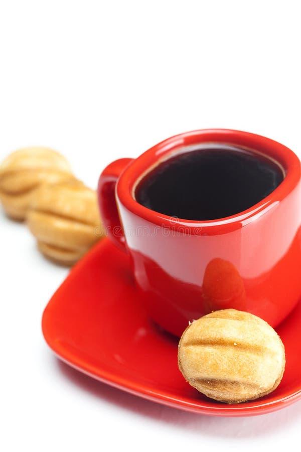 Noce della torta e del caffè fotografia stock libera da diritti