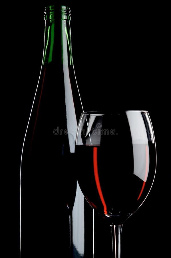 Noch Leben mit Rotweinen lizenzfreie stockfotos